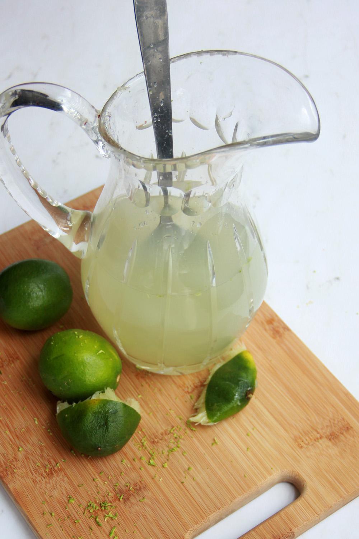 Lime Margarita Ice Popsicle recipe
