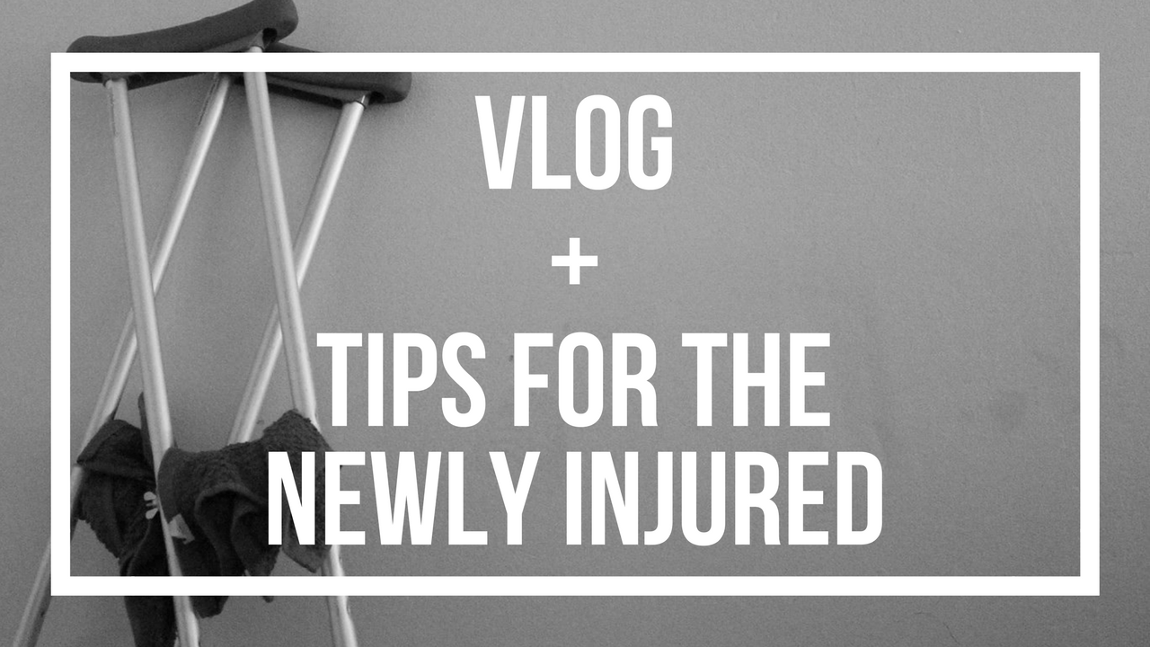 Vlog + Tips For The Newly Injured | Roller Derby