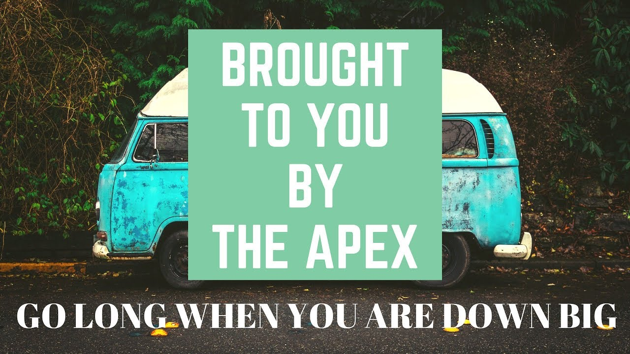 I'm Now Sponsored By The Apex!