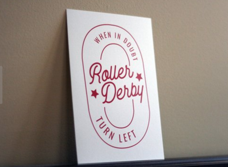 Copy of roller derby art