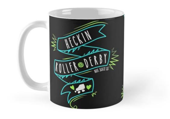 Copy of Copy of heckin roller derby roller derby mug