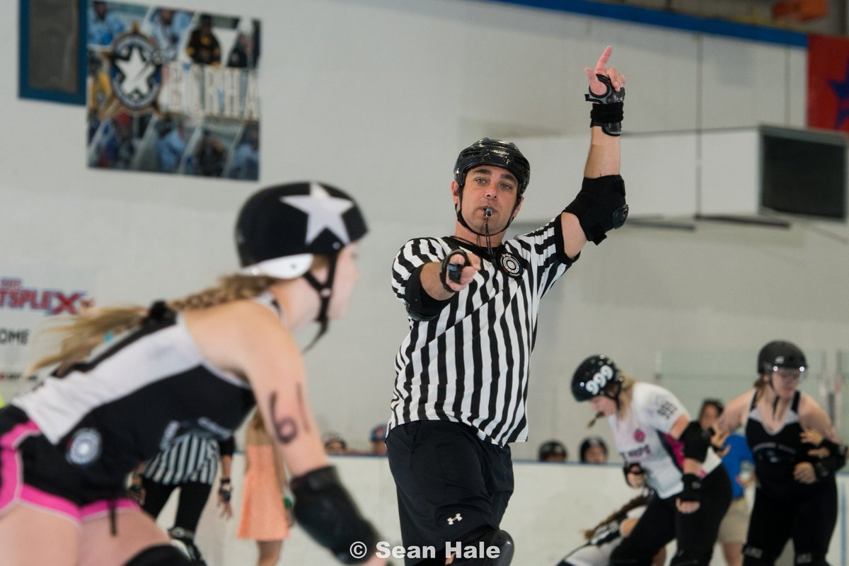 Alex Cline, co-Tournament Head Referee