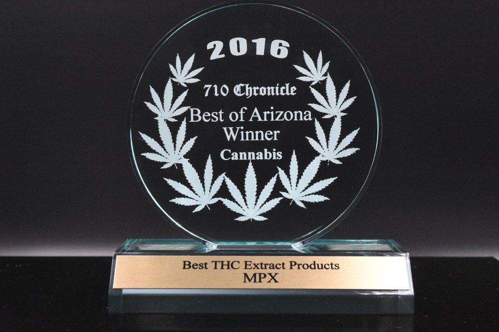 710 chronicle Best of Arizona Winner - Cannabis