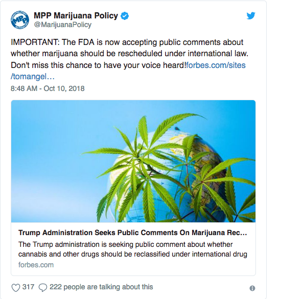 Screenshot_2018-10-13 FDA Wants Input on Marijuana Reclassification; Support for Legalization Keeps Going Higher; Utah Sees[...].png