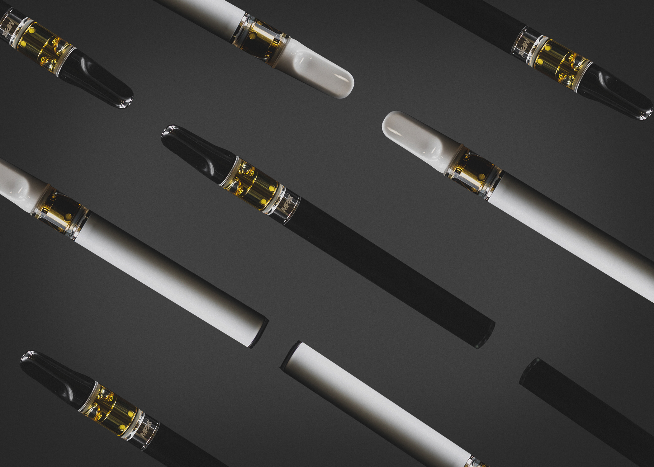 MPX Distillate Cartridges - Our Sativa Cartridges and Indica Cartridges are made with our high-quality, THC-rich distillate marijuana vape oil. We do not use any artificial ingredients or flavors. We infuse strain specific, all-natural terpenes for a modulating and palatable experience.We use exclusively CCELL technology that is made of glass which offers the highest quality components for maximum compatibility with all of our products. We currently offer a 500mg distillate cartridge and a 300mg disposable distillate cart.