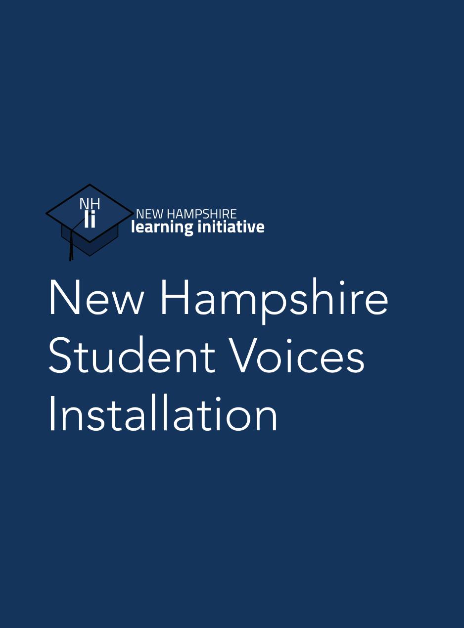 NHLI Voices Installation
