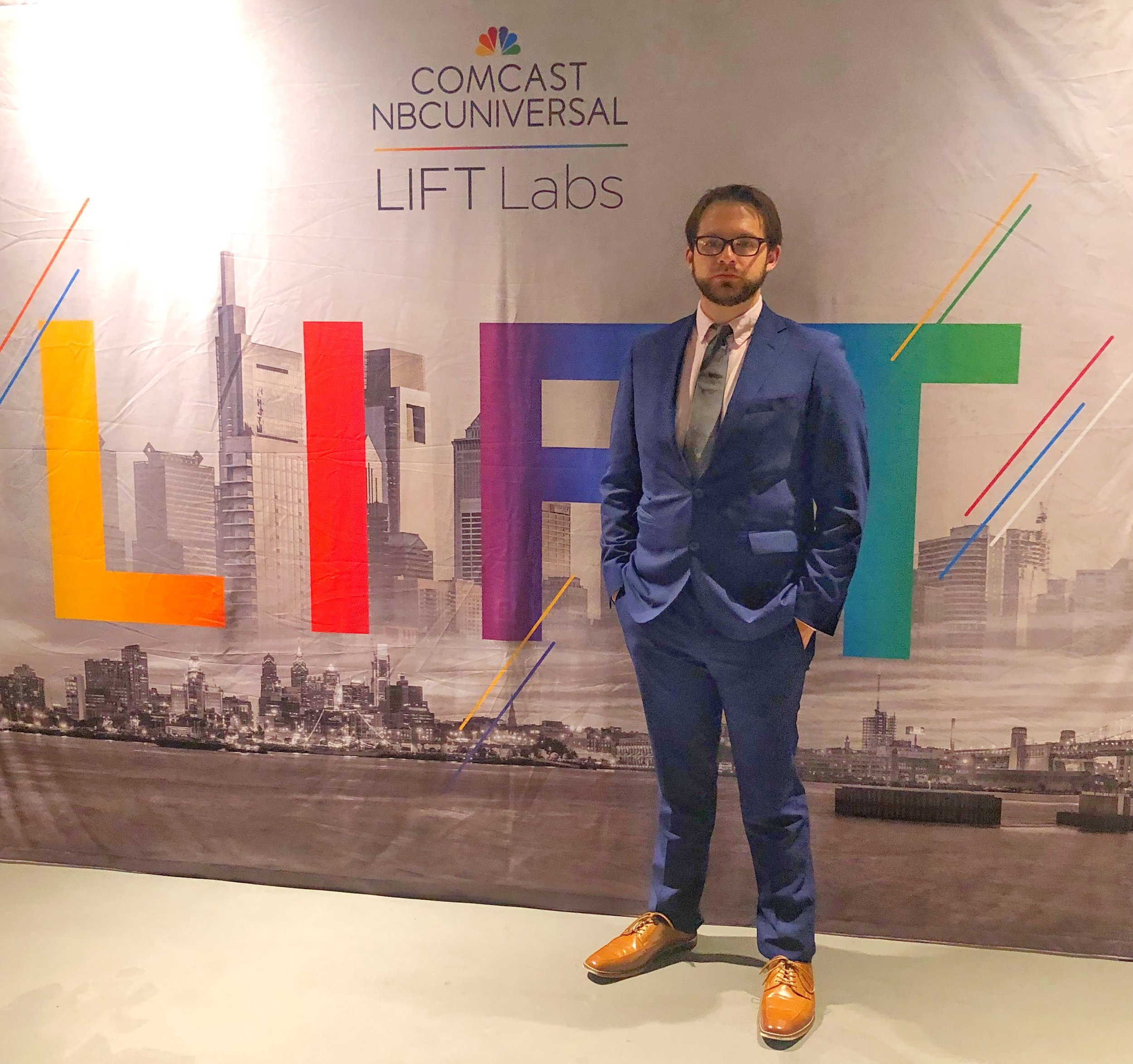 Founder, Ryan Martin, at Philadelphia Business Week's 2019 Signature event in the Comcast Technology Center.