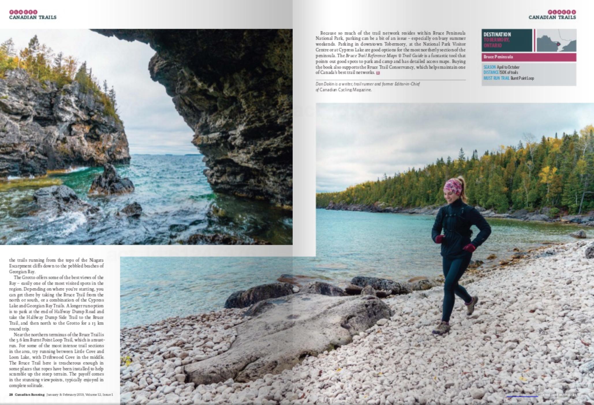 Canadian Running Magazine Winter 2019