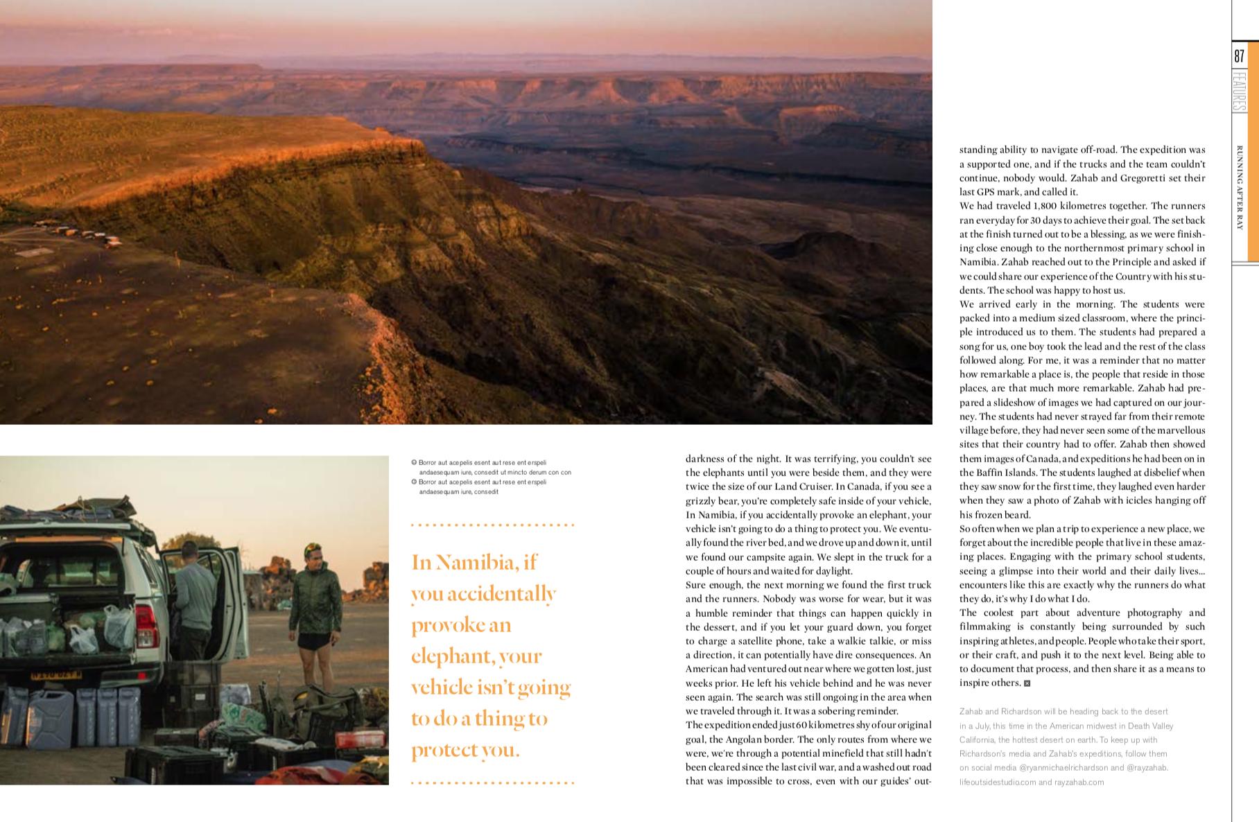The Outdoor Journal Magazine 2018