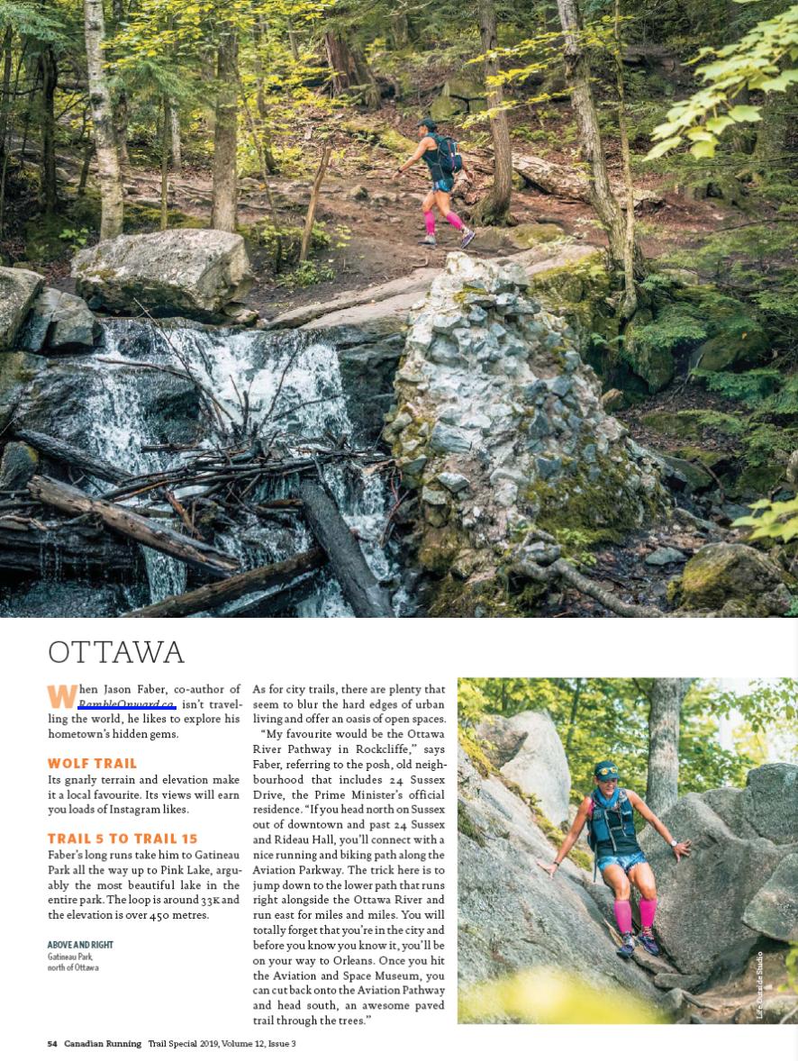 Canadian Running Magazine Spring 2019