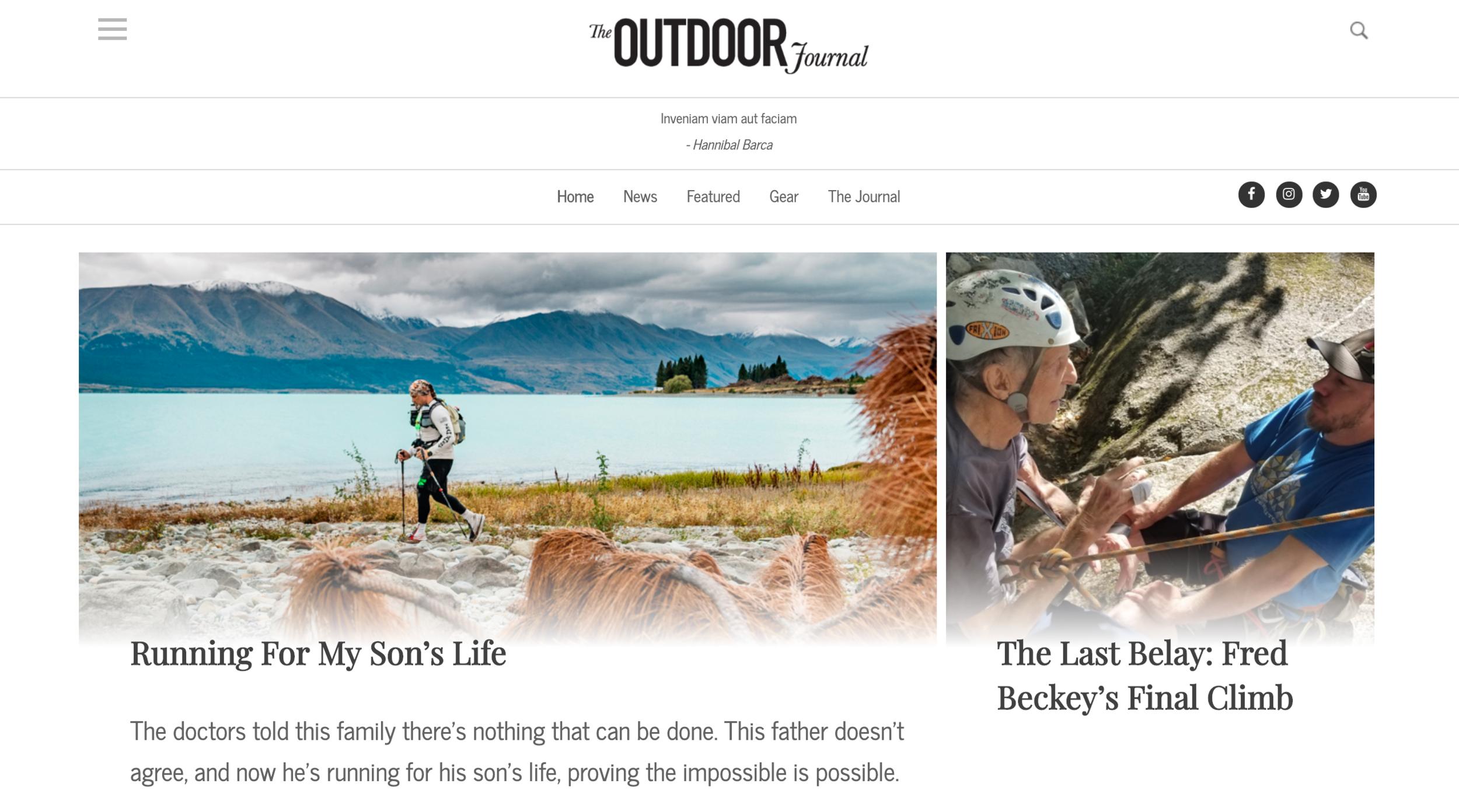 The Outdoor Journal 2019