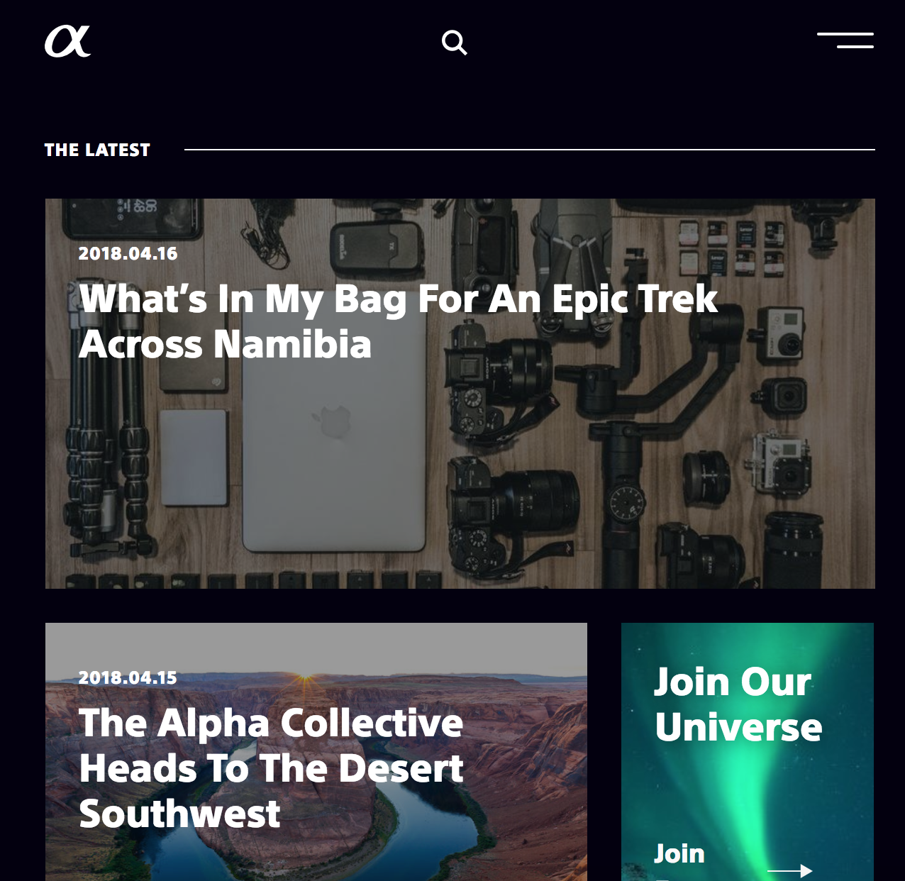 Sony Alpha Blog Summer 2018