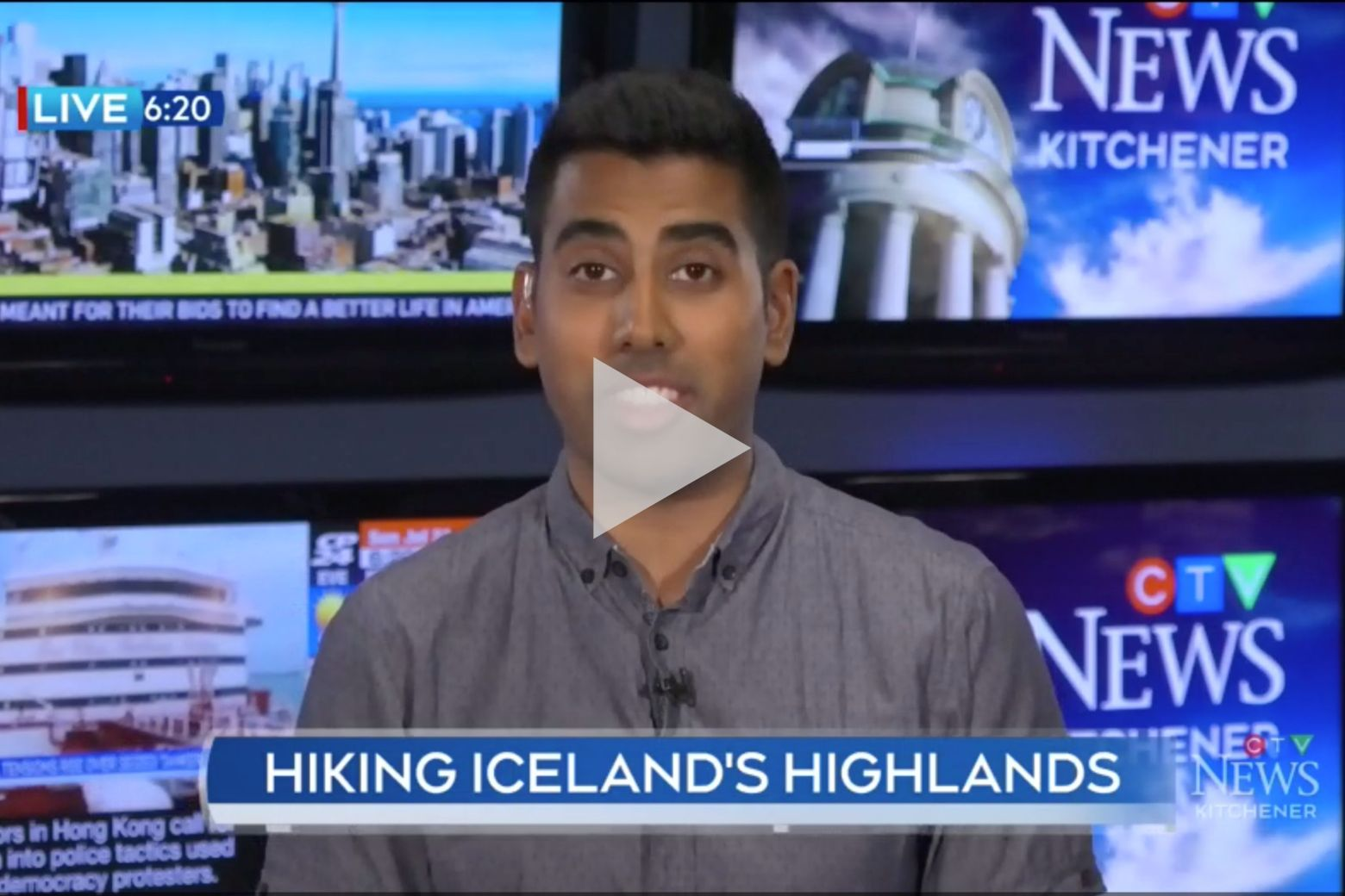 - CTV Kitchener's Zayn Jinah interviews Ryan Richardson and Hailey Playfair about their trek across Iceland.