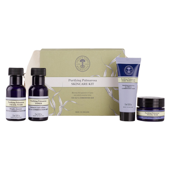 The Neal's Yard Skincare Kits are great for taking on holiday!