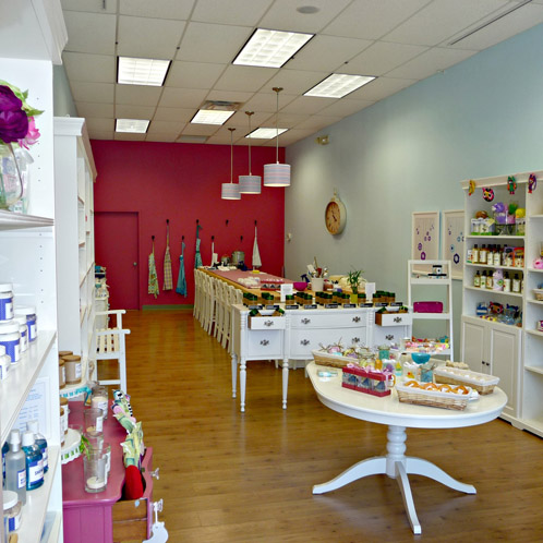 Inside Kensico Soap Bar's beautiful store. Read the interview with  Kensico Soap Bar here.