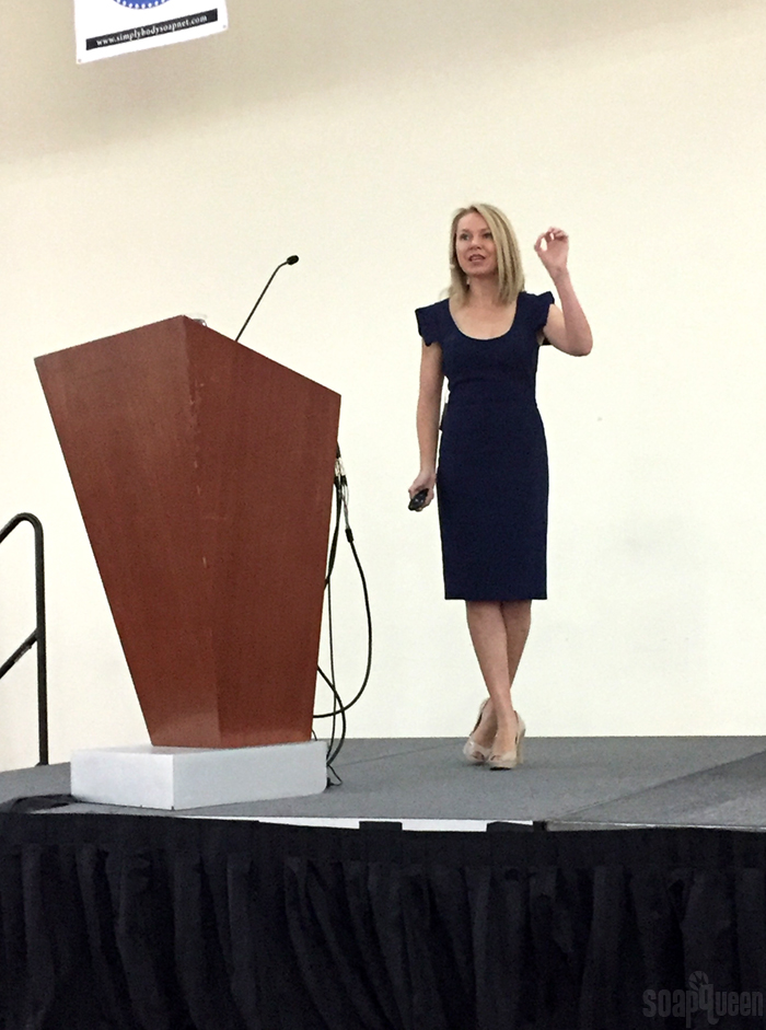 My talk focused on taking control of your life, resilience and setting goals.