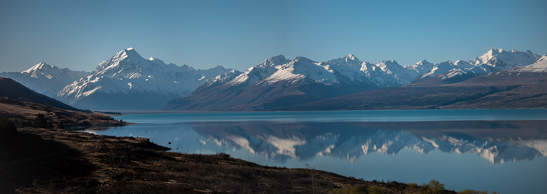 Lake Twizel in New Zealand