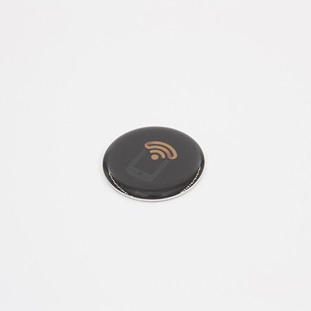 NFC Bubble Epoxy Sticker -