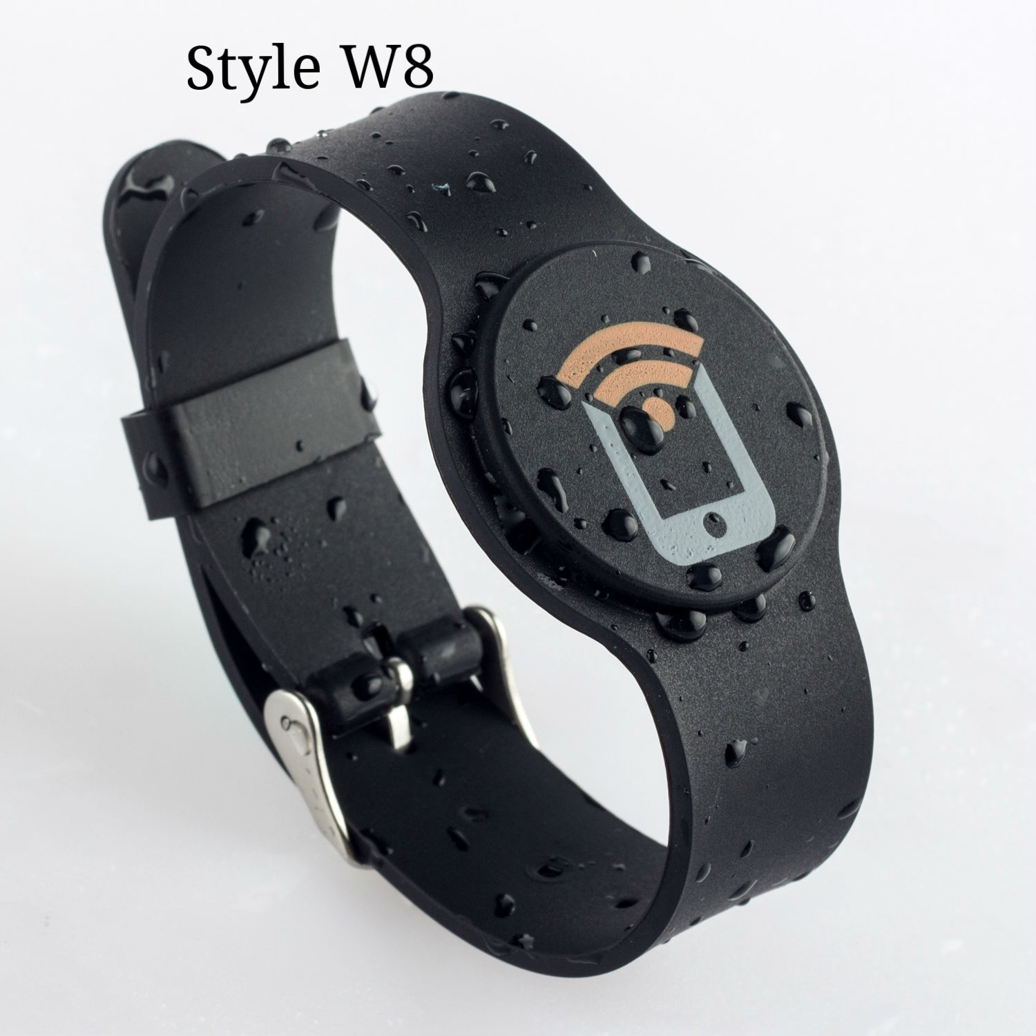 Silicone Watch-style Wristband