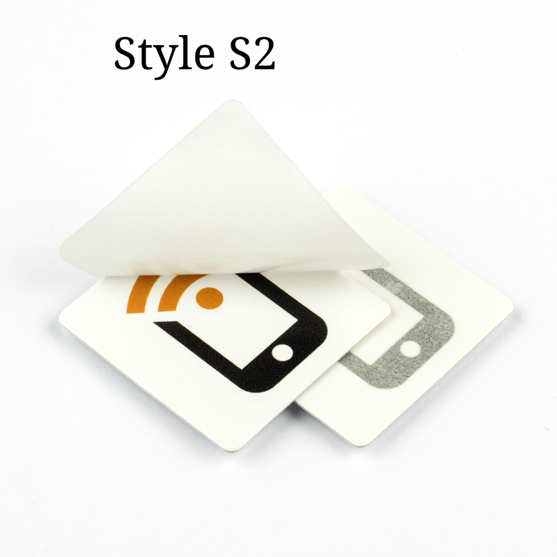 Reverse NFC Sticker