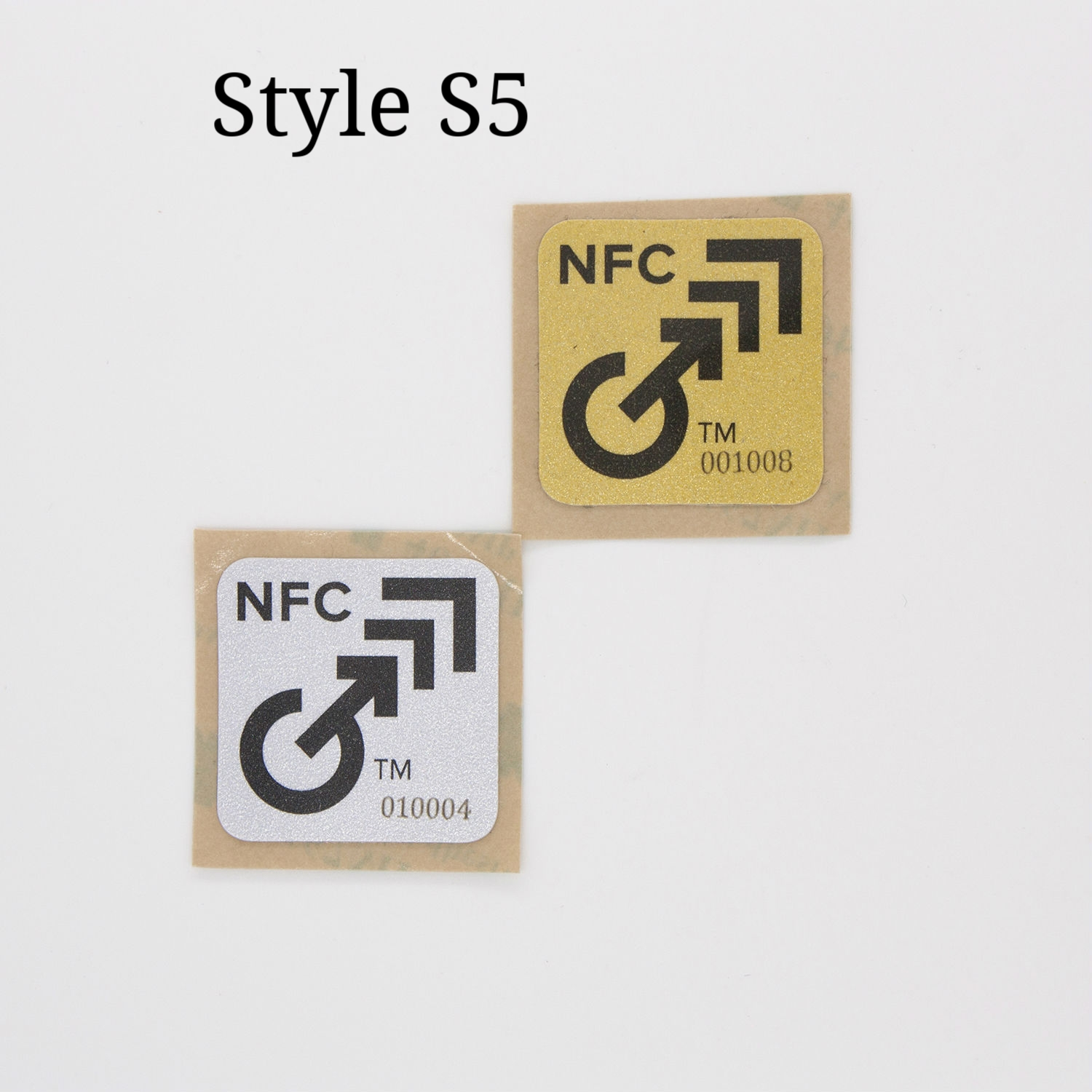 NFC Gold and Silver