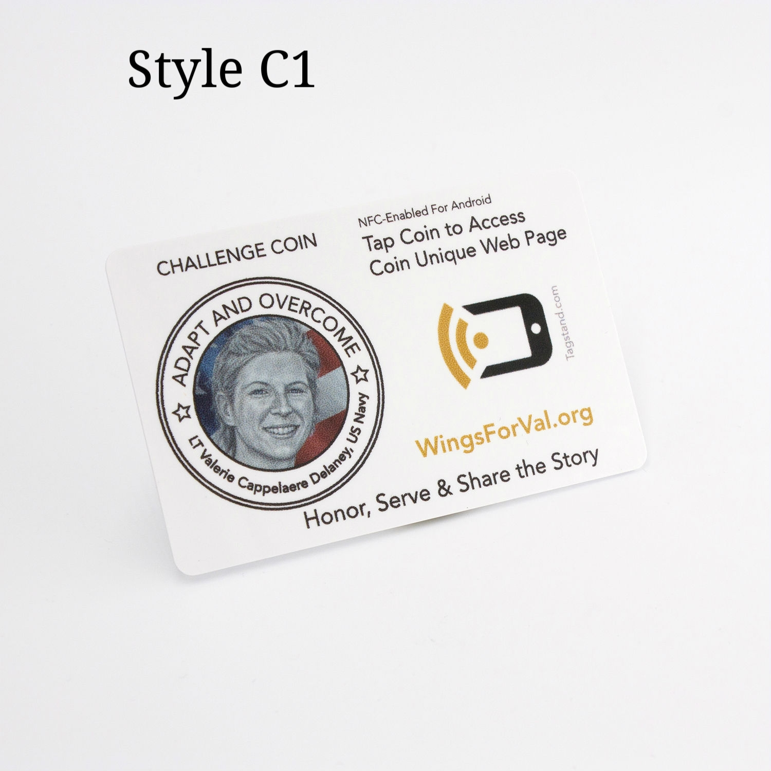 NFC Challenge Coin Card