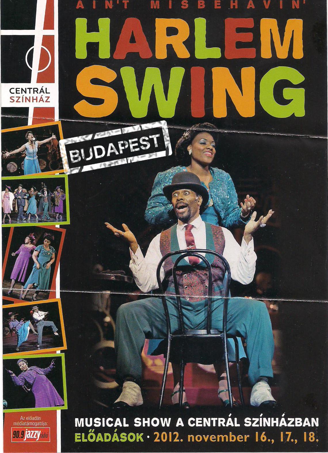 Ain't Misbehavin' - Harlem Swing HUNGARY ver 3.JPG