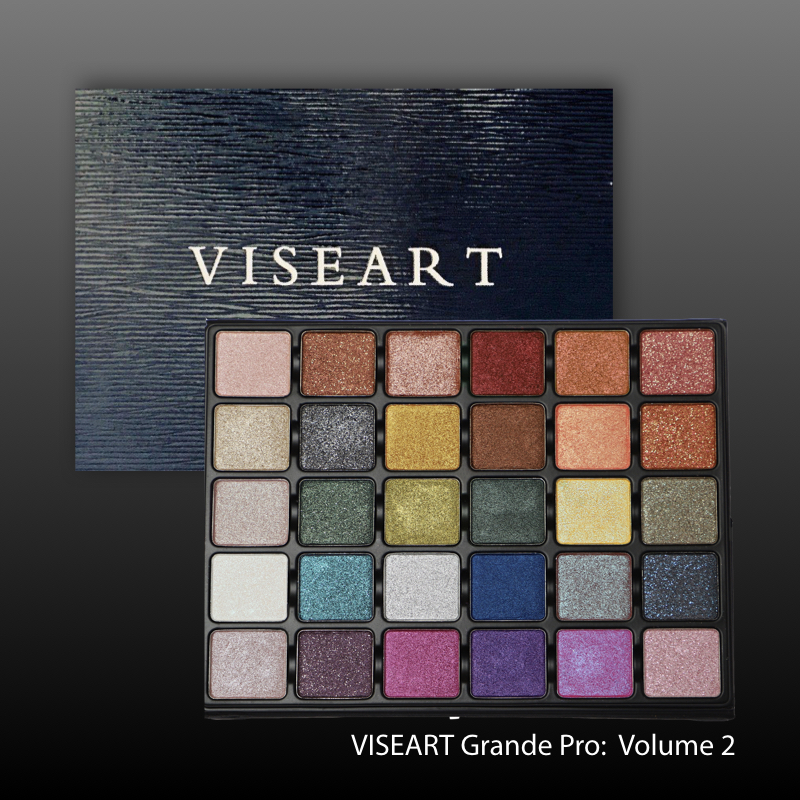 VISEART Grande Pro Palette: Volume 2 - 2018