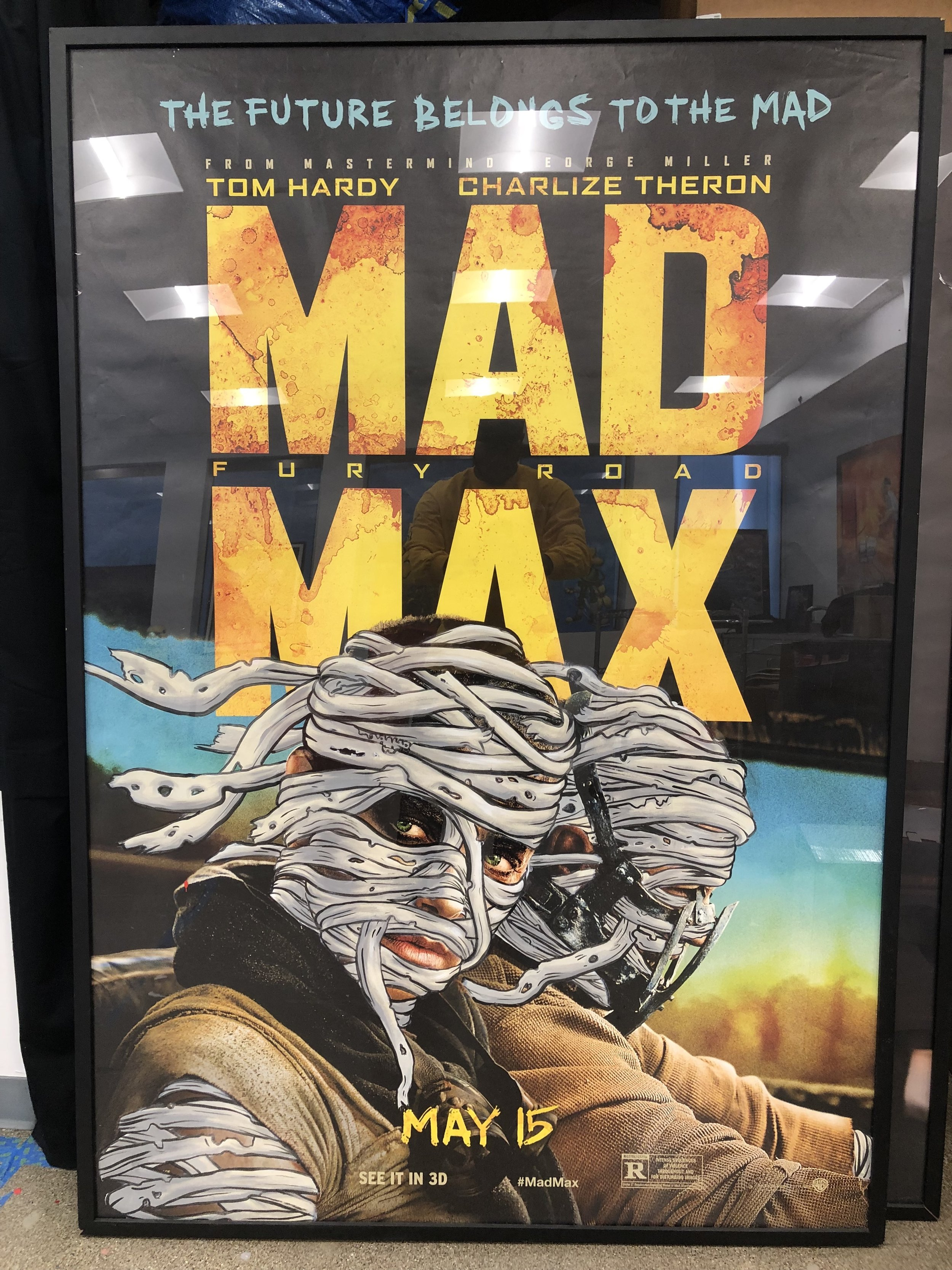 Mad Max Bus stop poster