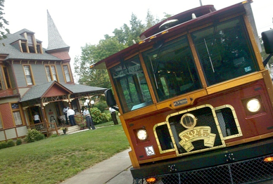 - The White Rose Trolley was reincarnated for a time in May 2011.  It is pictured here, on The Avenues, during a tour introducing local realtors to some of the many treasures living quietly in York City. (York Daily Record/Sunday News, Jason Plotkin)