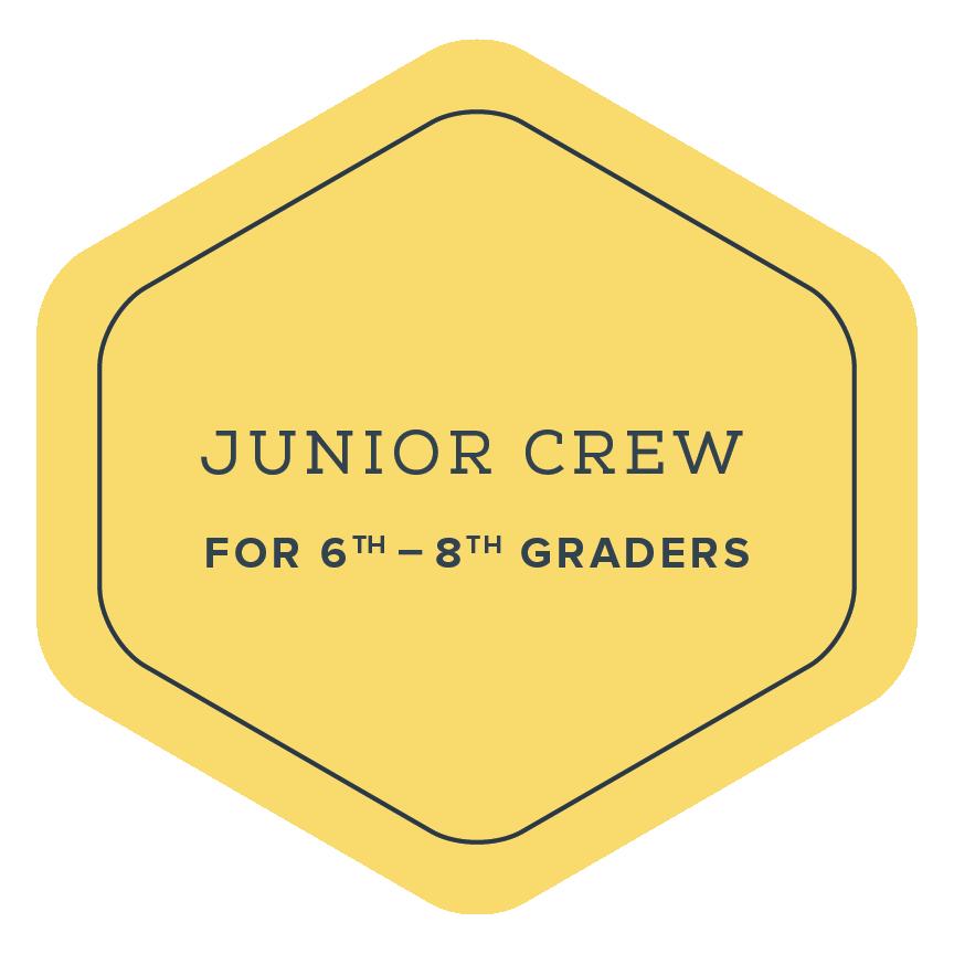 Junior Crew Badge | The Elements DC