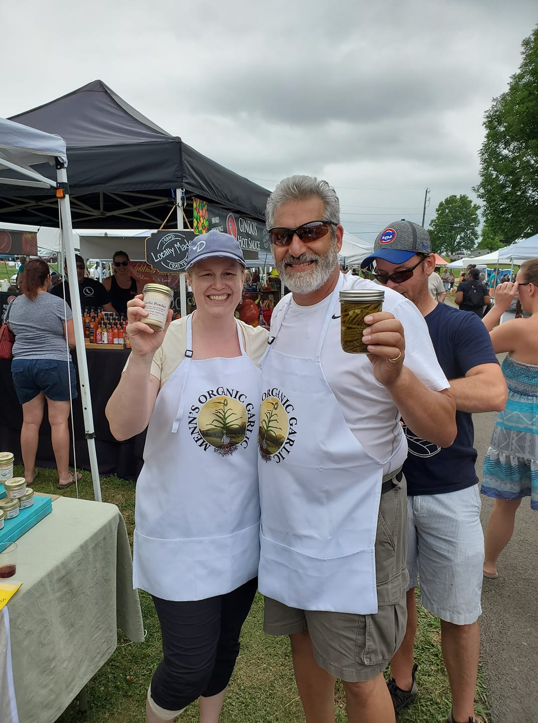 Join us at these farmers markets. - Featured farm: Midwest Garlic Festival !!!