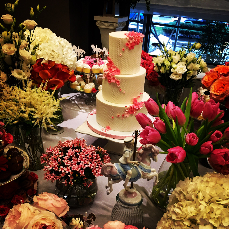 Baby's First Birthday in the Garden