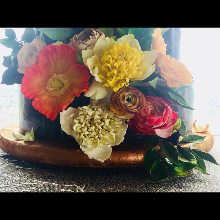 Peony, Poppies, Ranunculus