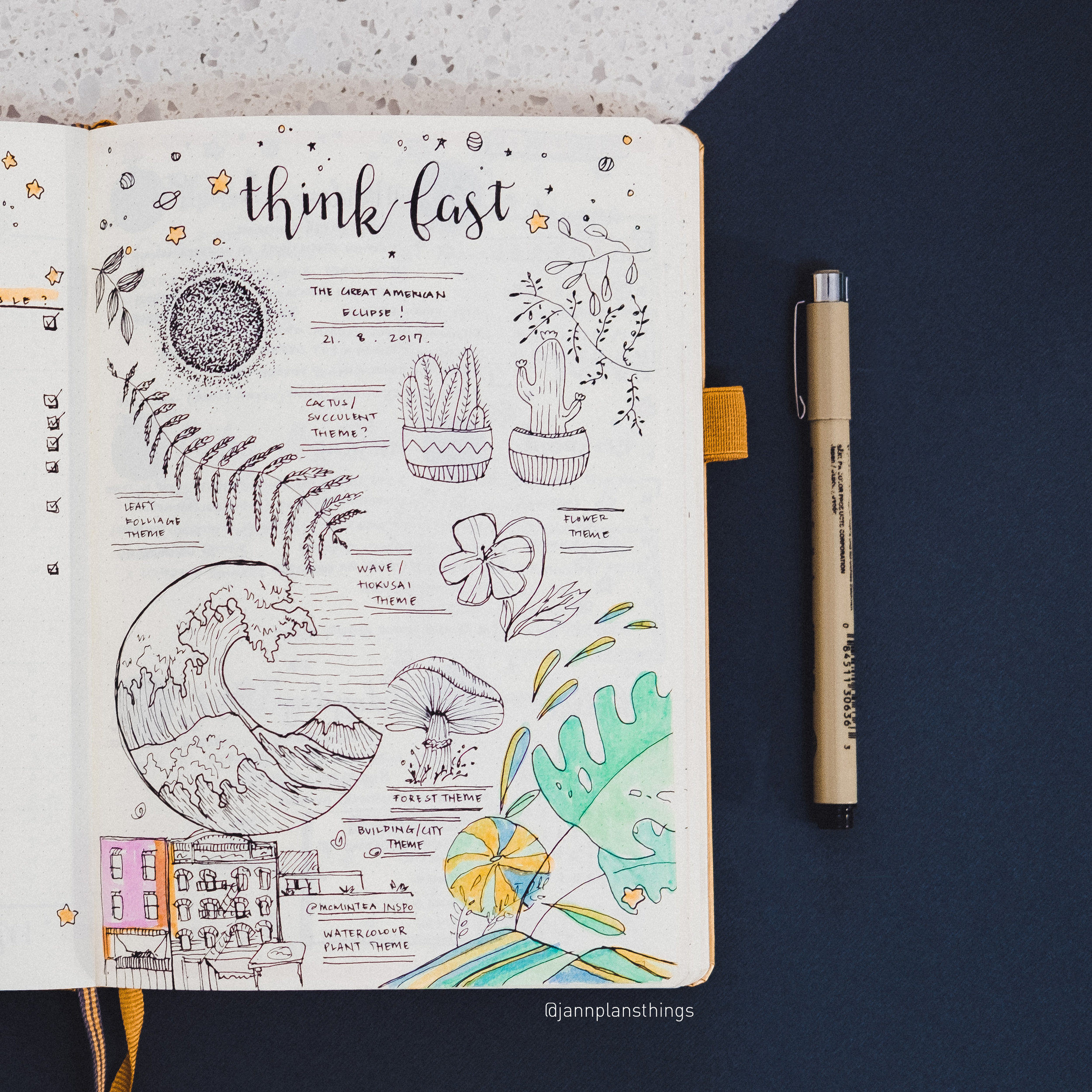 My little page of doodles