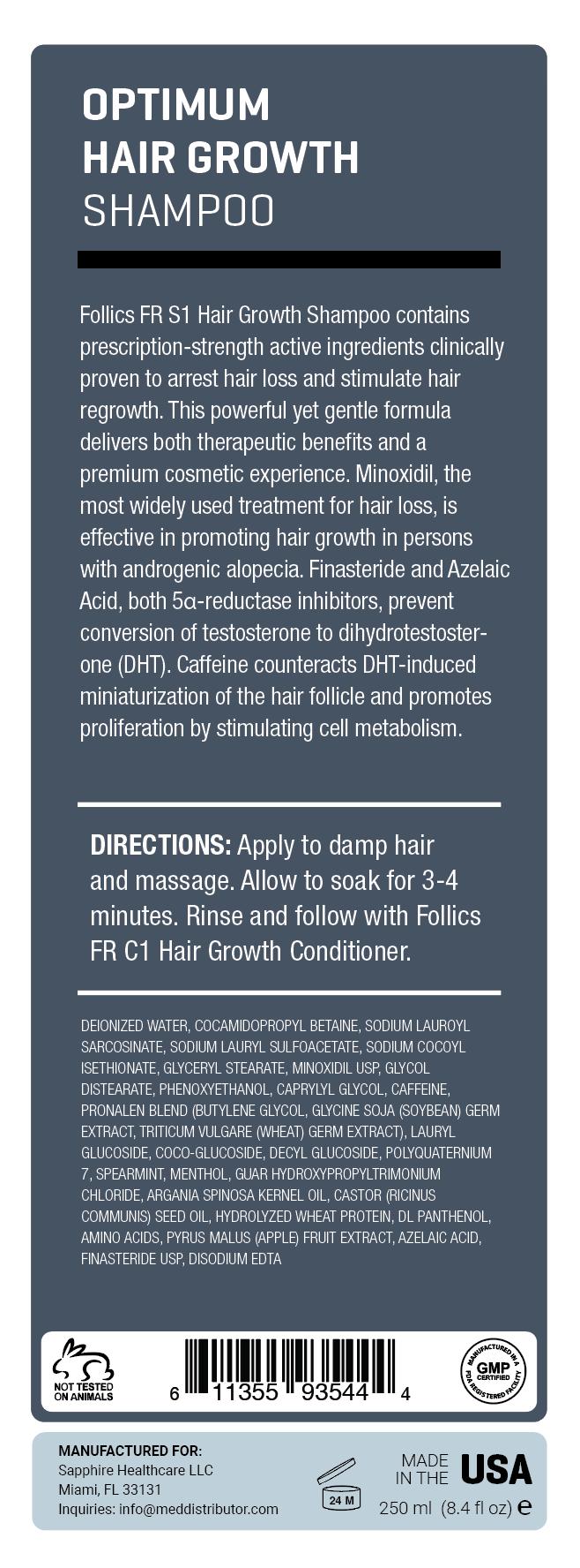 Fr S1 Shampoo Follics
