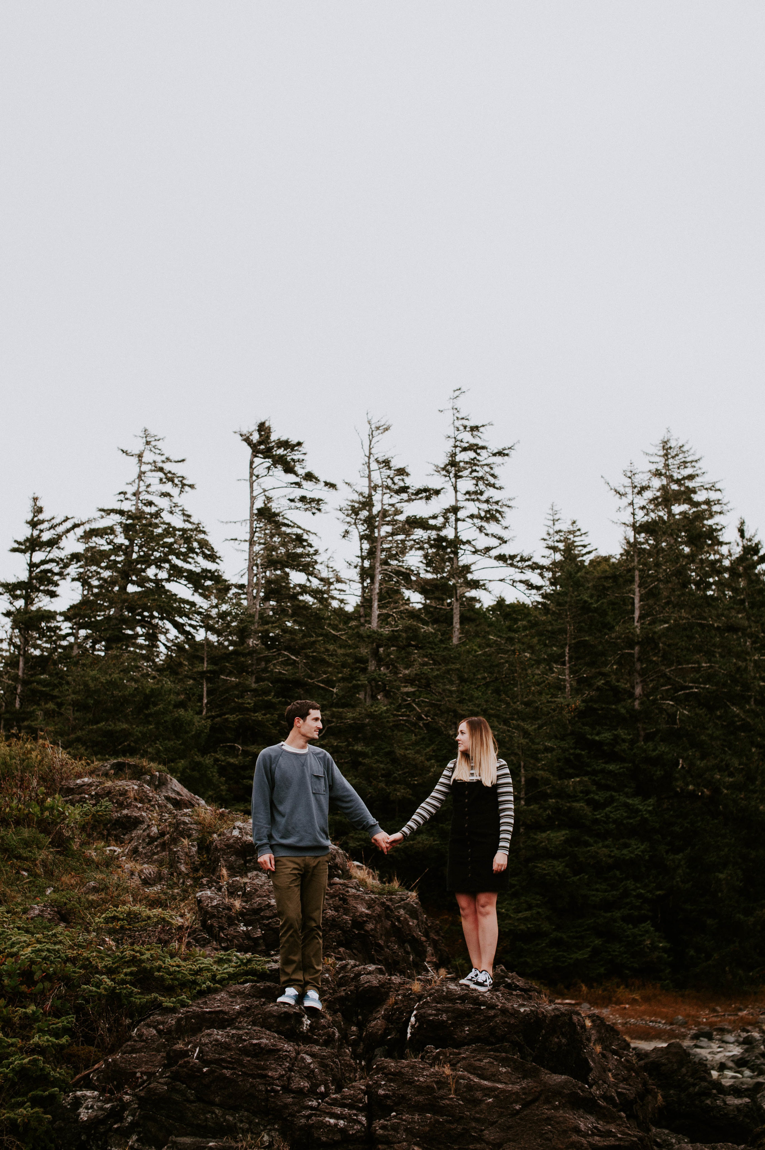 KRISTEN & GAVIN - PACIFIC RIM NATIONAL PARK, NOVEMBER 2018Our session with Nora was such a dream! I found her photography through social media, and knew right away that I had to reach out to her about an upcoming Tofino trip we had planned.Before our shoot, Nora really spent time getting to know us and this made our meeting that much more exciting! The first thing I noticed, and was incredibly thankful for, was how talented she was at giving us direction. We had many playful games that captured our truly genuine moments!It was an unforgettable experience and we would highly recommend Nora to anyone! Trust us, if you're looking for a photographer who will exceed all of your expectations, then you've found her! You're a true gem, Nora - we can't wait to work with you again!