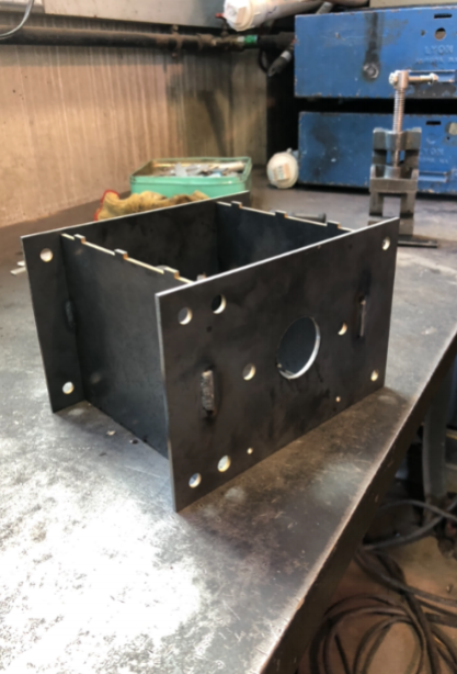 Image 4: Finished after welding