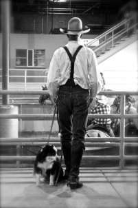 Cowboy and best friend