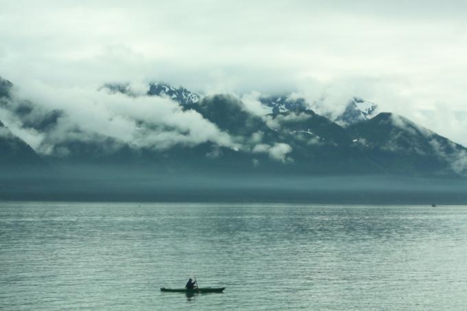 Serene Day in Alaska
