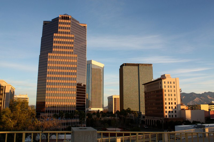 Tucson Morning Skyline
