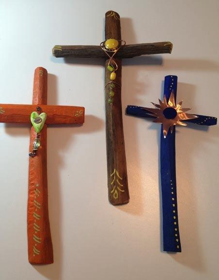 Saguaro Rib Crosses