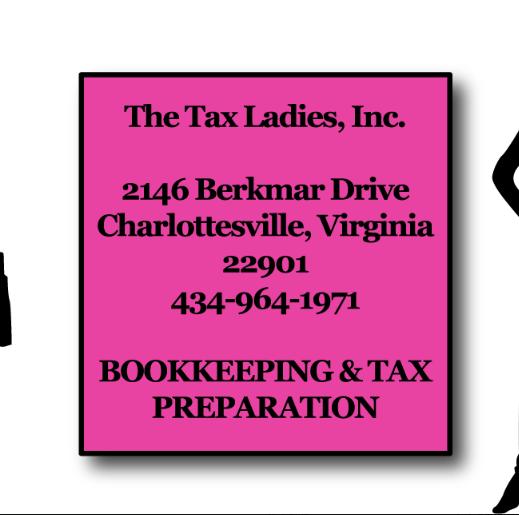 The Tax Ladies   https://www.taxladiesofcville.com