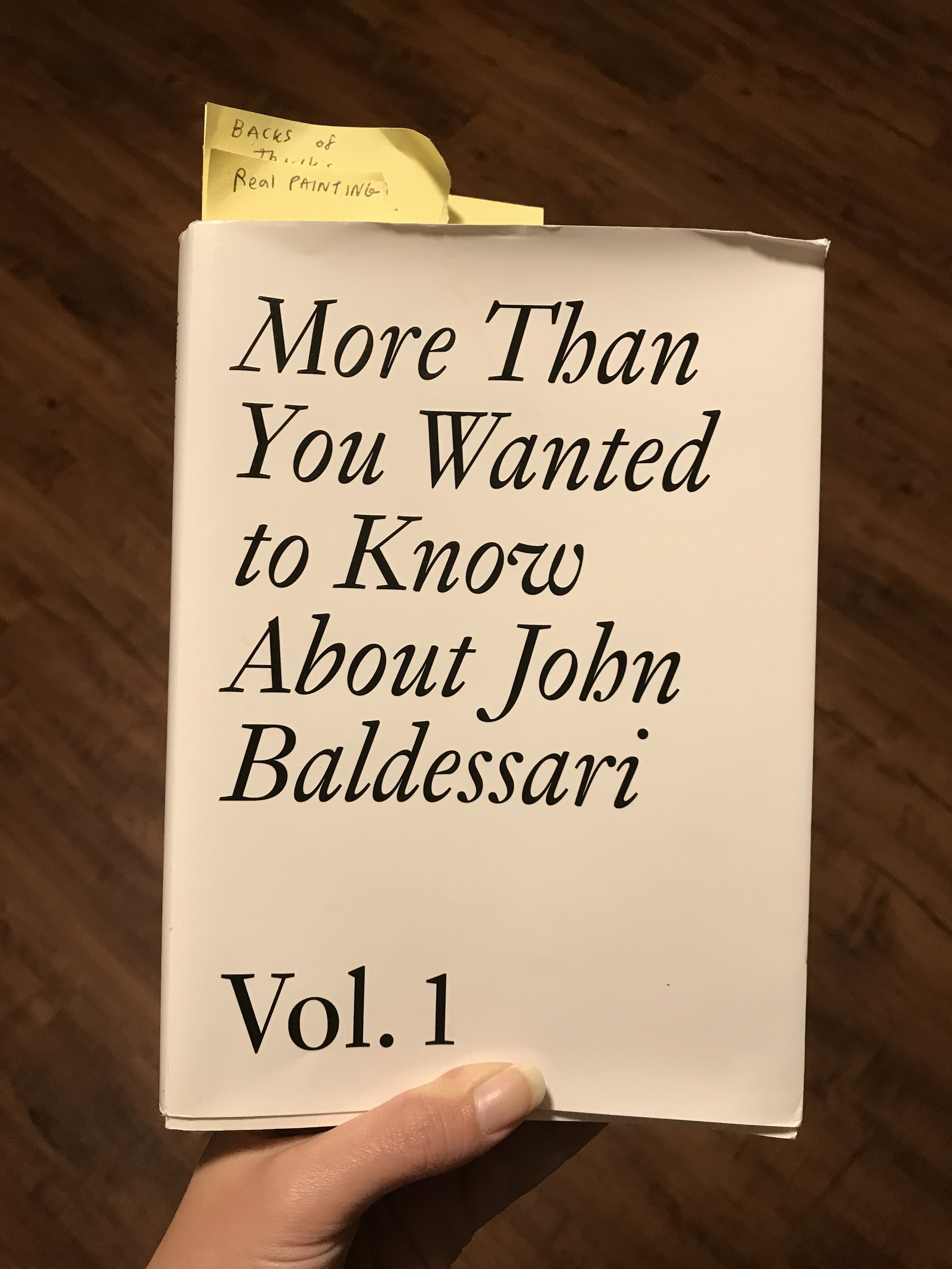 I highly recommend this book, it's great for thinking.