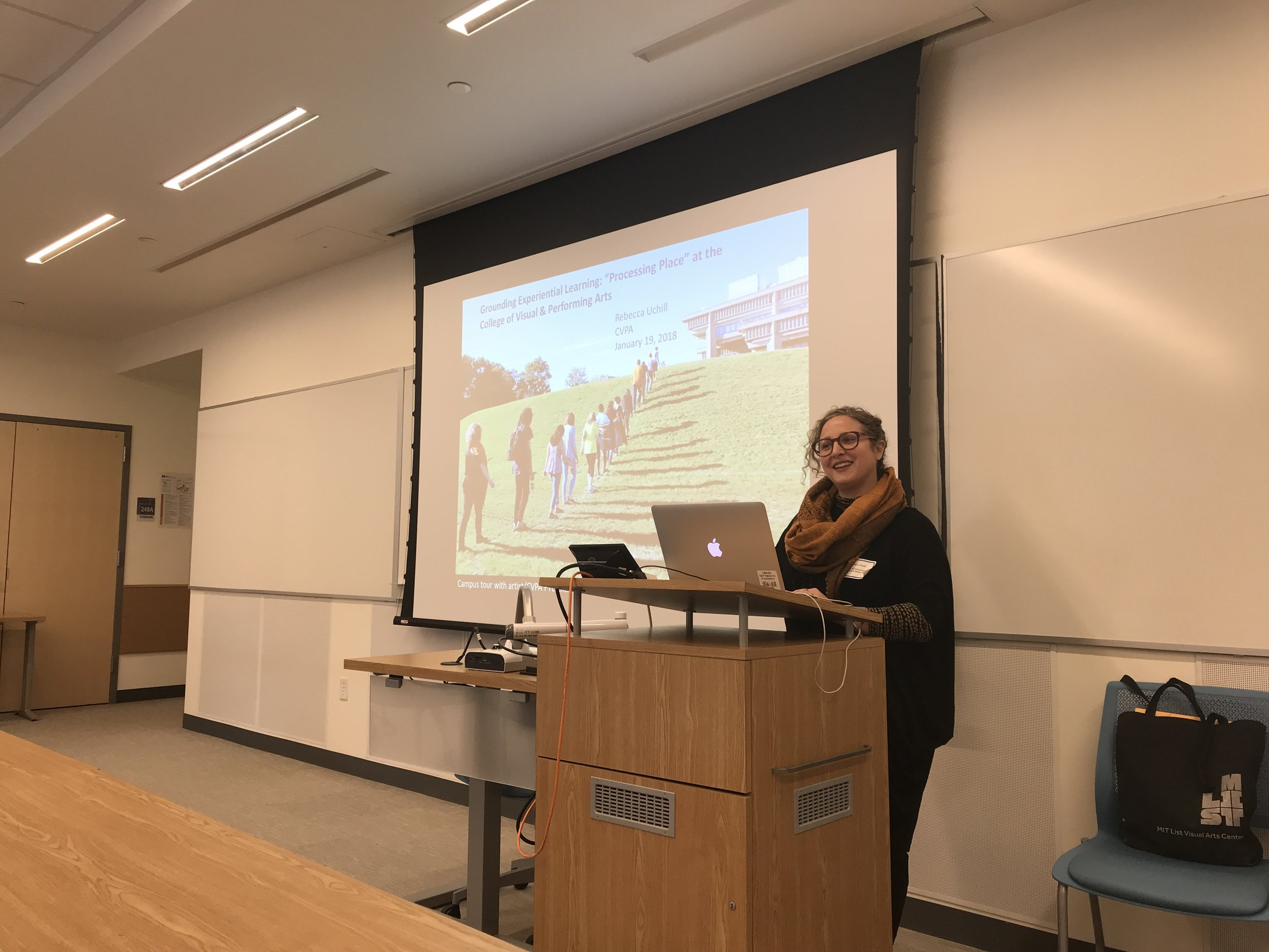 As part of Dr. Rebecca Uchill's lecture at the Innovation in Teaching Conference at UMass Dartmouth right before the semester began, I gave a short talk about the process of making Publix (our collaborative book featuring public art from all over the campus).