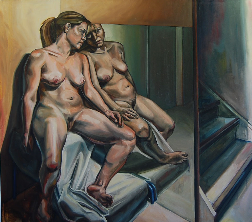 Amanda Mackay Nude people paintings — studio vazquez-mackay