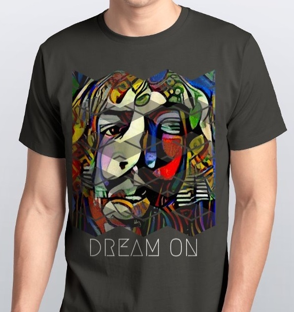 Dream on mens tee.JPG