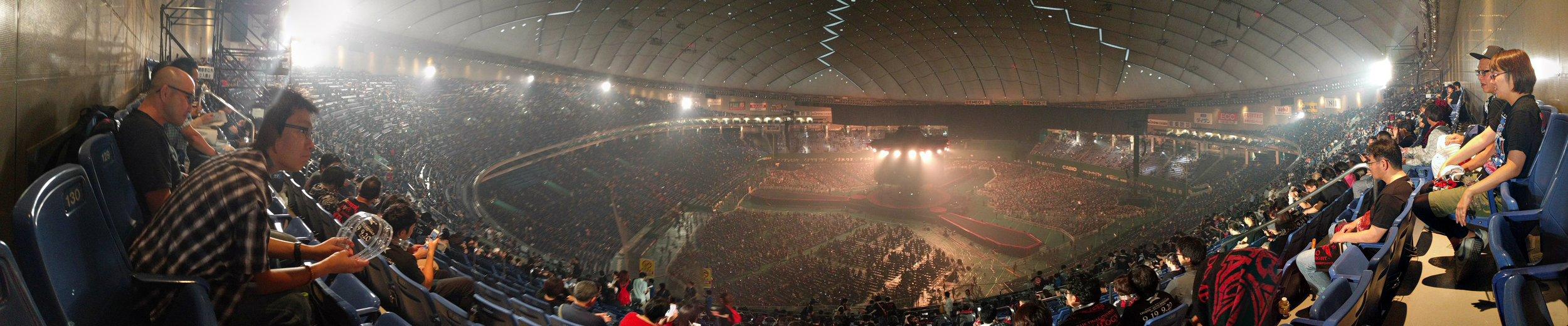 Inside Tokyo Dome