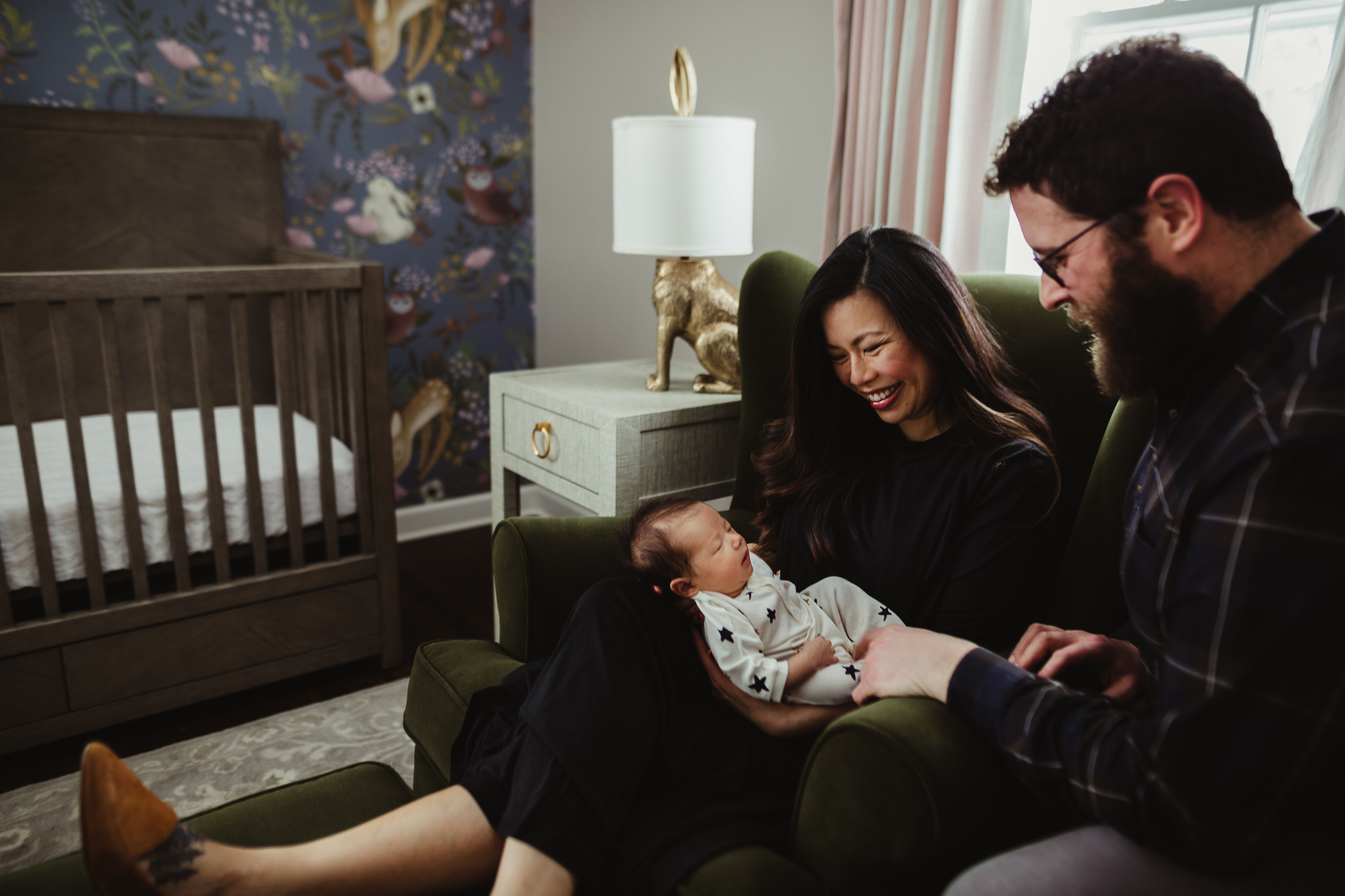 NEWEST ADDITION - An in-home newborn session.