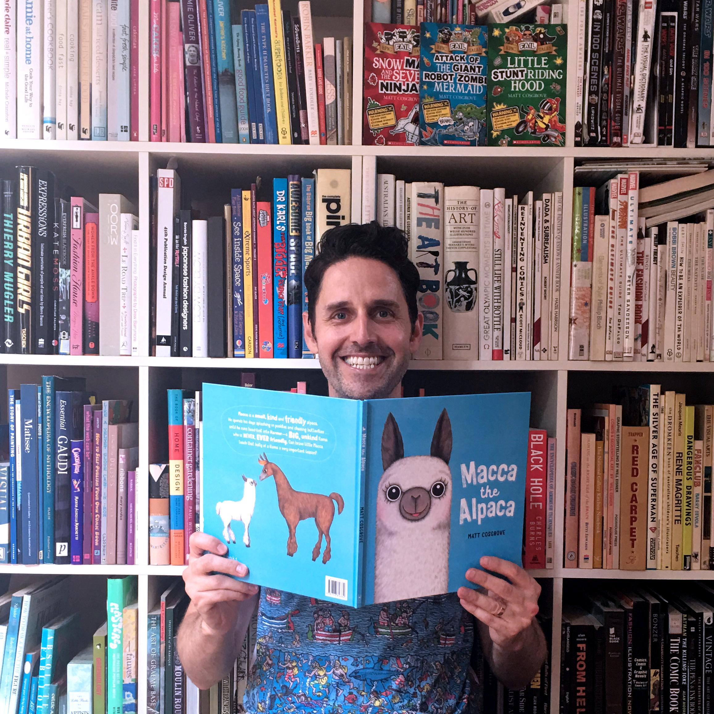 Author & Illustrator - Matt Cosgrove